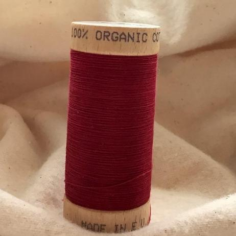Organic Cotton Thread 4806 Burgundy