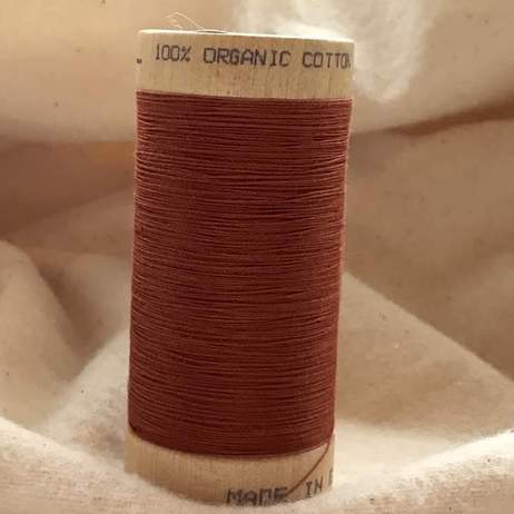 Organic Cotton Thread 3828 Terracotta