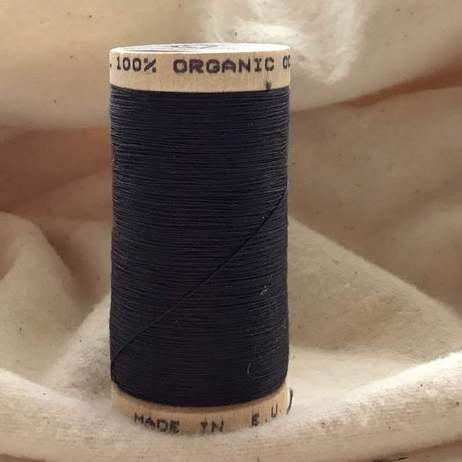 Organic Cotton Thread 1833 Coal