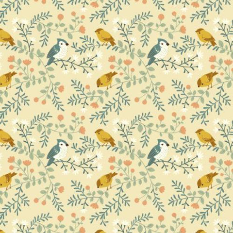 Teagan White | Birds and Branches, Cream