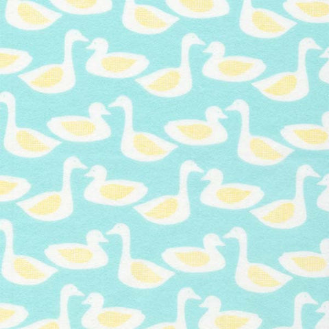 Cloud9 Flannel - Duck | Turquoise