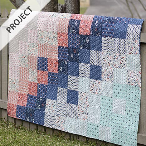 Wildwood Crib Quilt - Free Tutorial