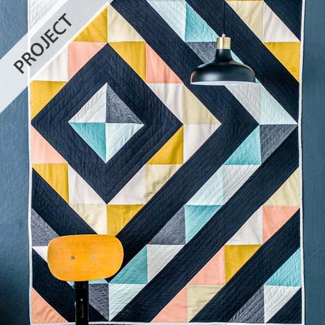 Around The Block Quilt (variation) - Free Pattern