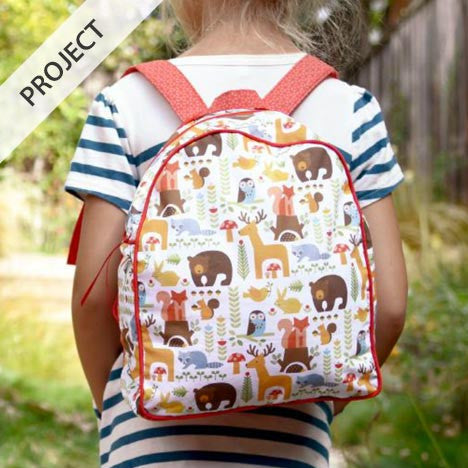 Forest Parade Toddler Backpack