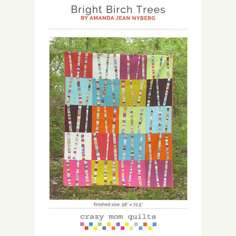 Bright Birch Trees Quilt Pattern