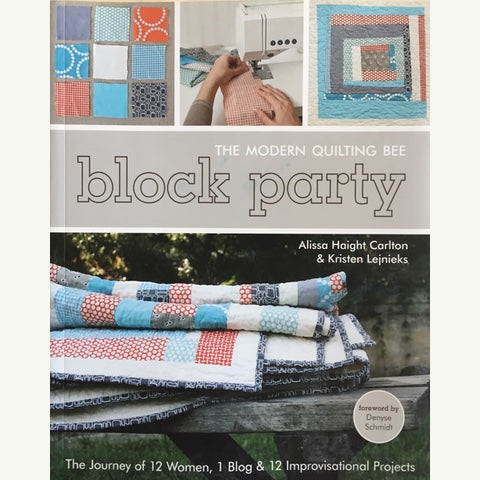 The Modern Quilting Bee - Block Party Book