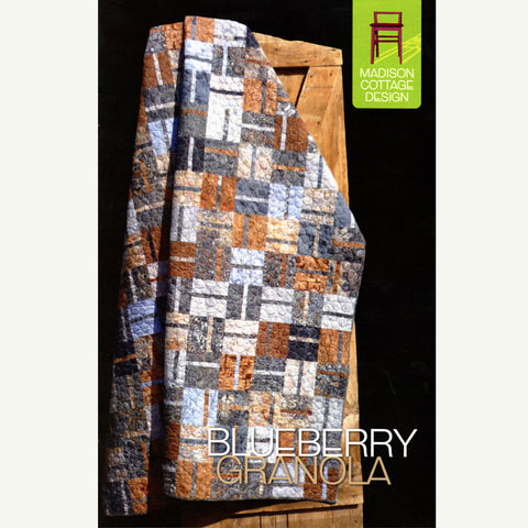 Blueberry Granola Quilt Pattern  | HoneyBeGood