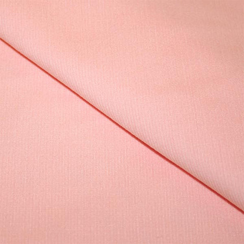 Floratopia Organic Cotton Corduroy in Solid Blush | HoneyBeGood