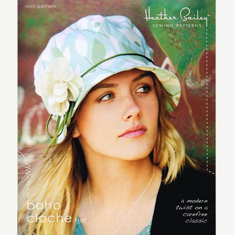 Boho Cloche Hat Mini Pattern