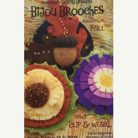 Bijou Brooches Collection Pattern