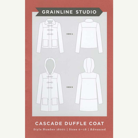 Cascade Duffle Coat Pattern | HoneyBeGood