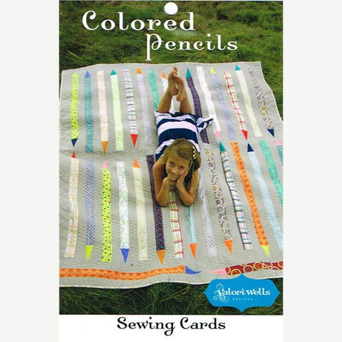 Colored Pencils Quilt Sewing Card