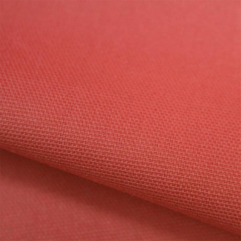 Organic Canvas Solids by Birch Fabrics - Coral | HoneyBeGood