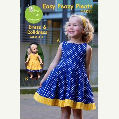 Dress and Dolldress Pattern