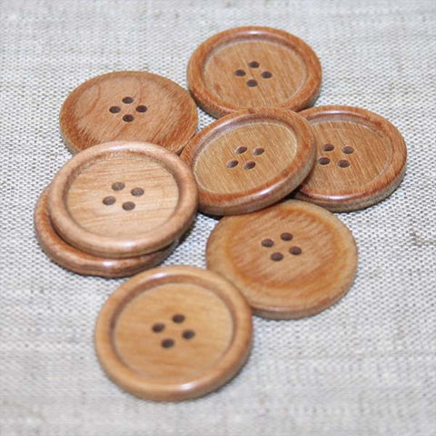 Classic English Rim Wood Button Astrowood