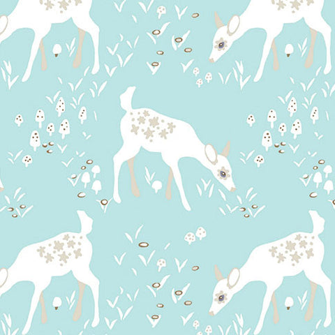 Woodland Gathering - Fawn | Blue