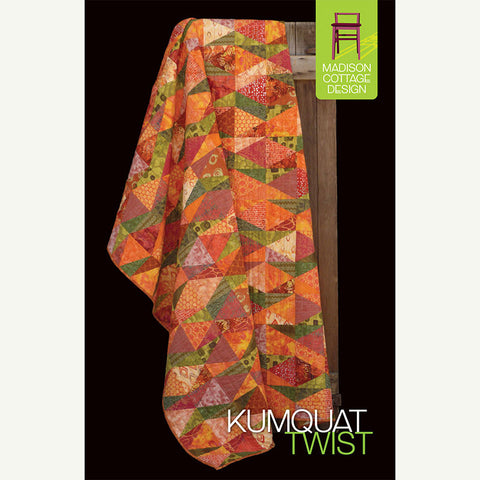 Kumquat Twist Quilt Pattern