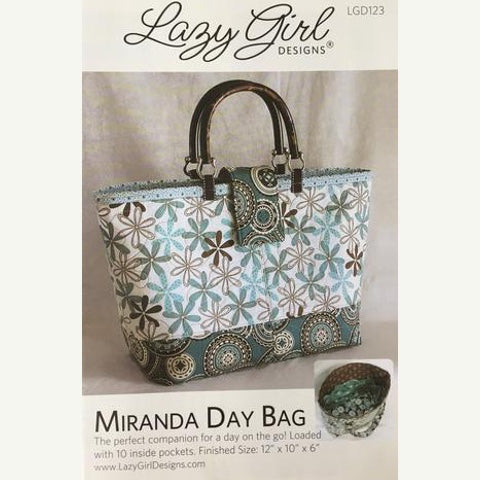 Miranda Day Bag Pattern