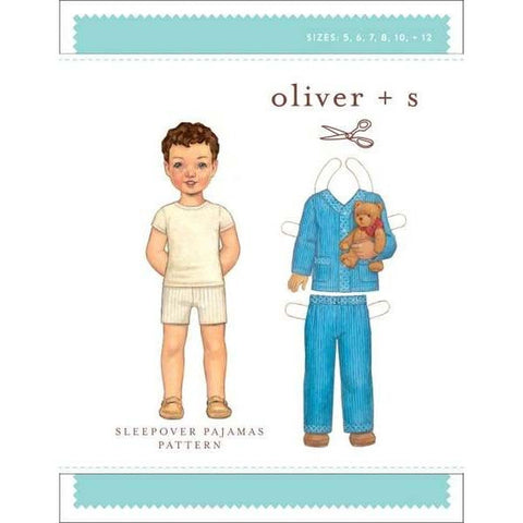 Sleepover Pajamas (for Boy or Girl) Sewing Pattern