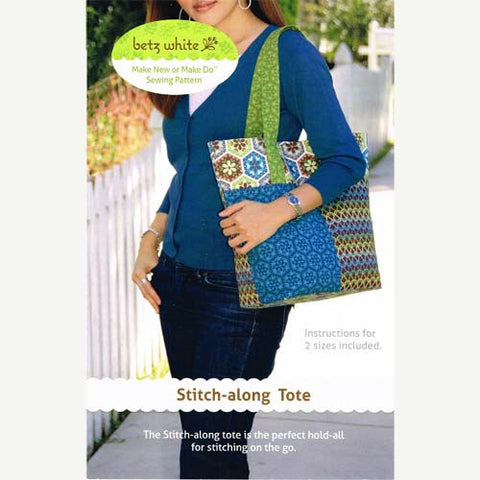 Stitch-along Tote Pattern