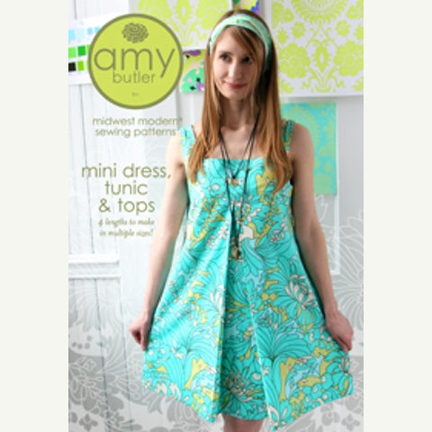 Mini Dress, Tunic, & Tops Pattern