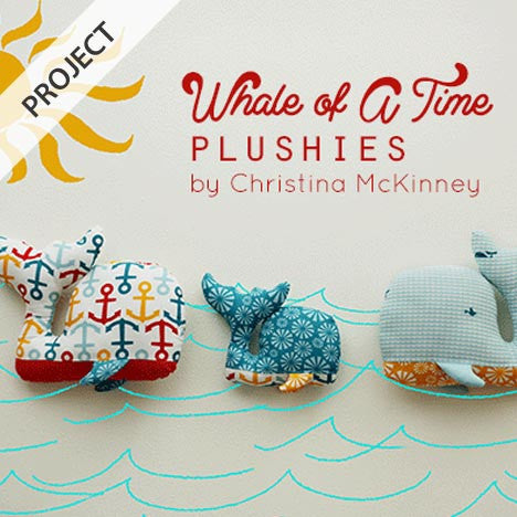 Whale of a Time Plushie - Free Tutorial