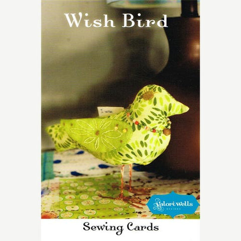 Wish Bird Sewing Card