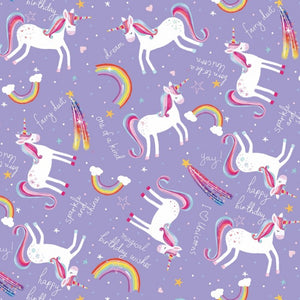 Unicorn Gift Wrap Sheet