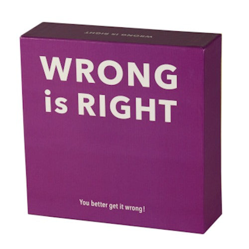 Wrong is Right Game