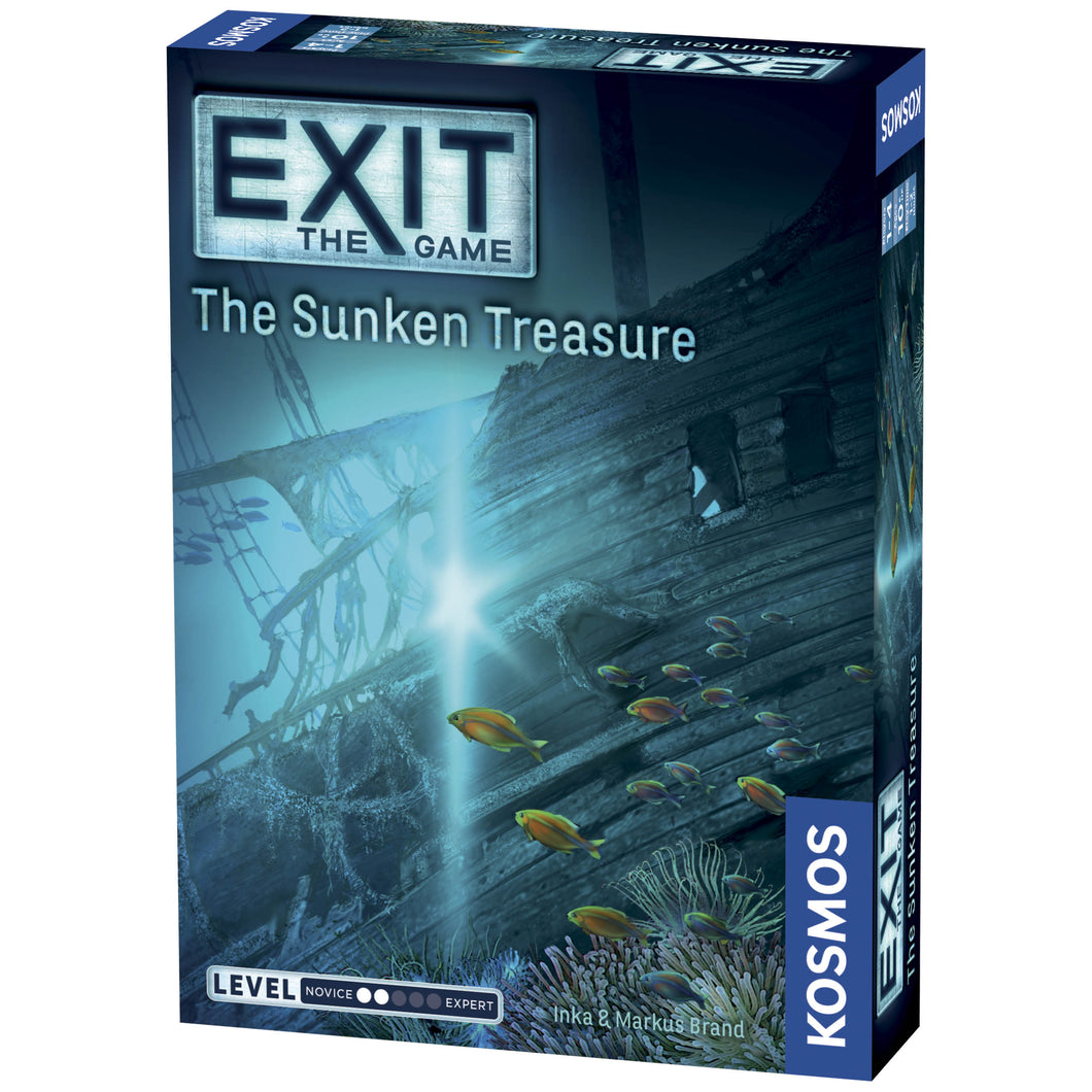 Exit The Sunken Treasure Game