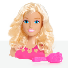 Load image into Gallery viewer, Barbie Mini Blonde Styling Head