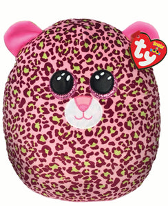 Lainey Leopard Squish A Boo (10 inch)