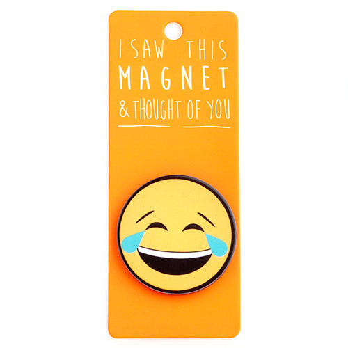 Magnet - Cry Laughing Emoji