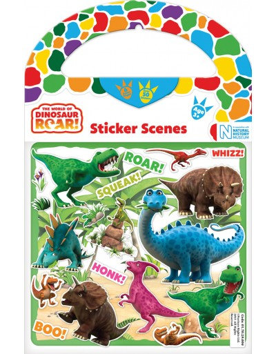 Sticker Scene Dinosaur Roar