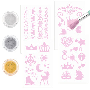 Fantasy Model Glitter Tattoo Set