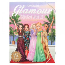Load image into Gallery viewer, Top Model Glamour Stickerworld Book