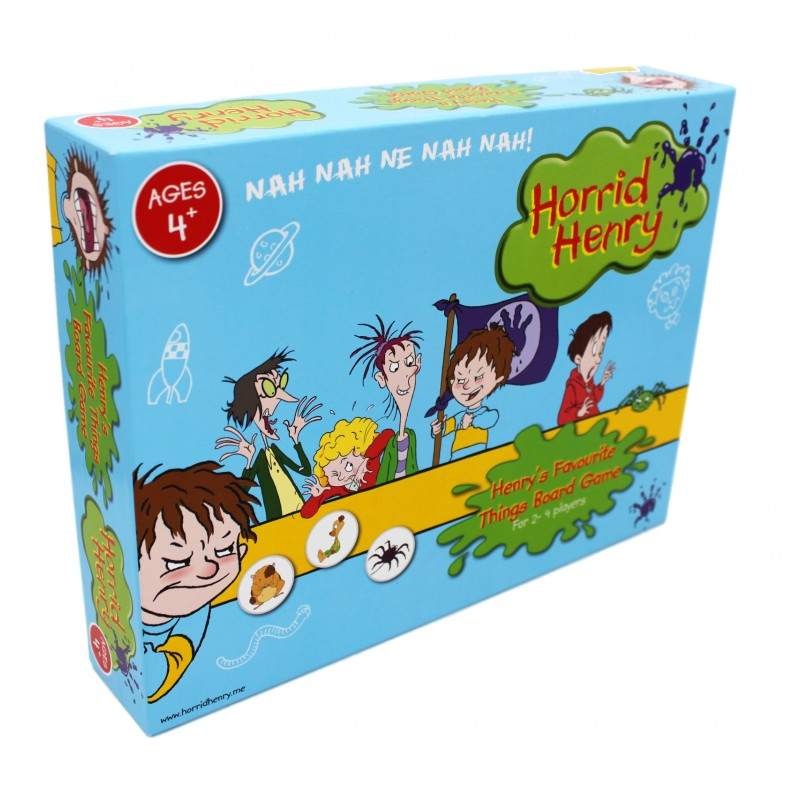 Horrid Henry Board Game