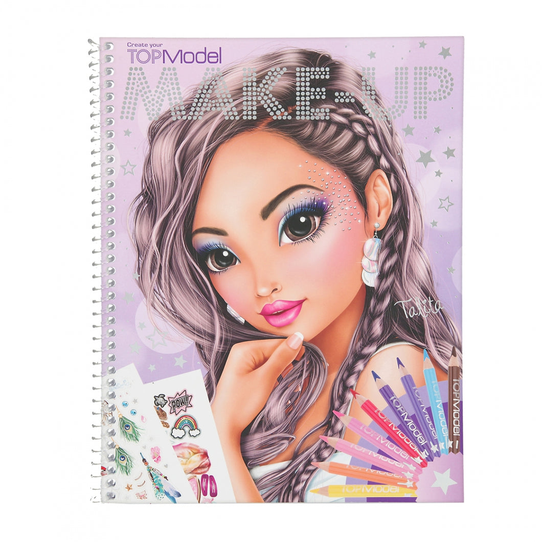 Top Model Make up Colouring Book