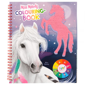 Miss Melody Colouring Book