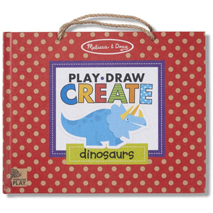Dinosaurs Drawing and Magnet Kit