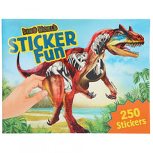 Load image into Gallery viewer, Dino World Sticker Fun