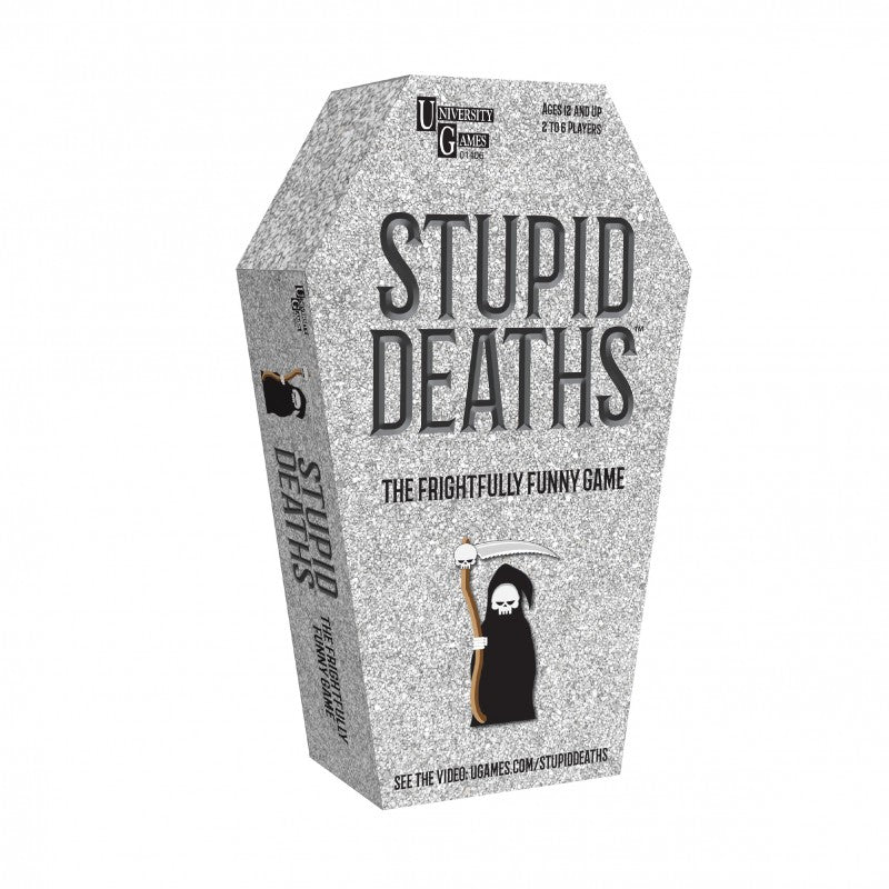 Stupid Deaths Coffin Tin Game
