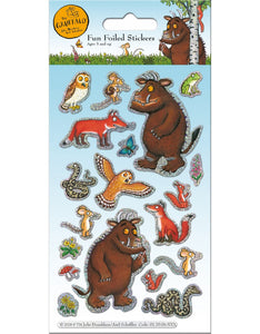 Foil Gruffalo Stickers