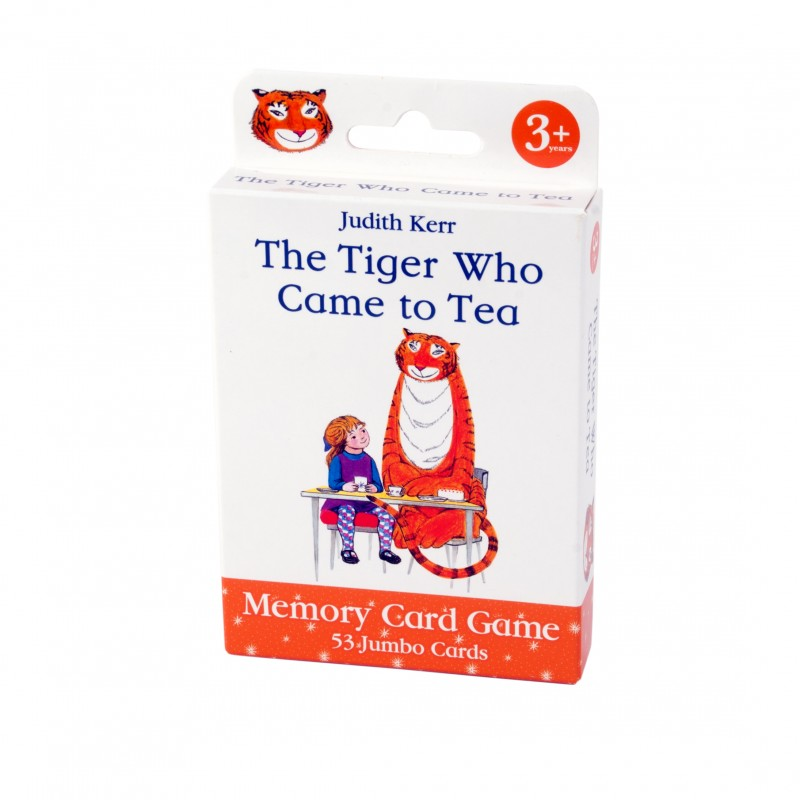 The Tiger Came to Tea Card Game