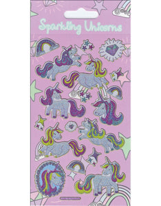 Sparkle Unicorn Stickers