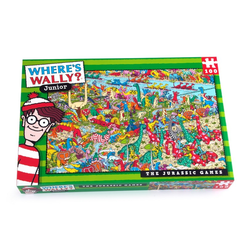 Wheres Wally Puzzle - Jurassic Games