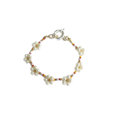 Pearly Bloom Bracelet