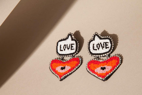 Love Declaration Earrings