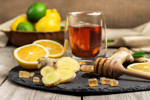 Lemon Ginger-(Black Tea)