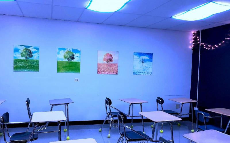 Blue Light In Classrooms